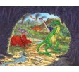 PARTY MURAL 121,92 CM X 162,56 CM DIGGIN FOR DINOS
